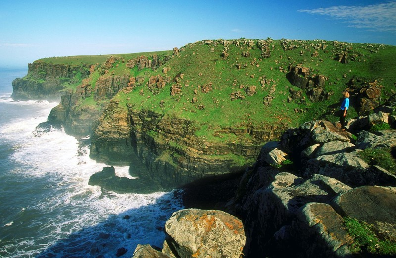Eastern Cape Scenery of the coast